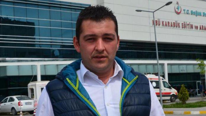 Elazığsporlu Tom'un tekme attığı güvenlikçi: 'Oğluma bile kepaze oldum'