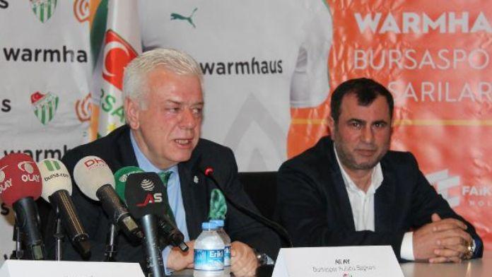 Bursaspor Başkanı Ali Ay: 'Hamzaoğlu'ndan fedakarlık istediK'