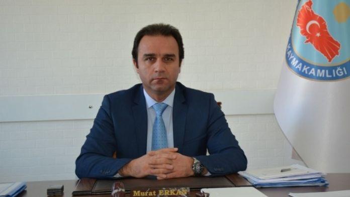 Kaymakam Erkan'dan Miraç Kandili Mesajı