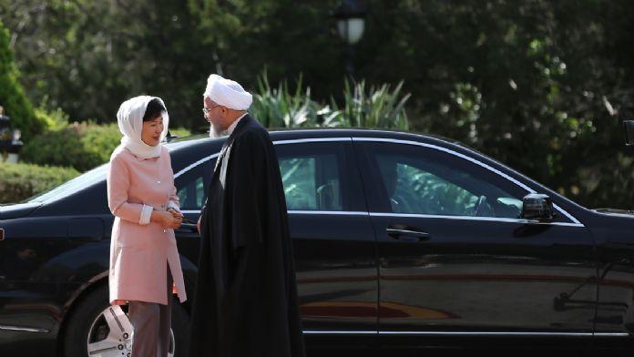 Güney Kore Cumhurbaşkanı Park, İran'da