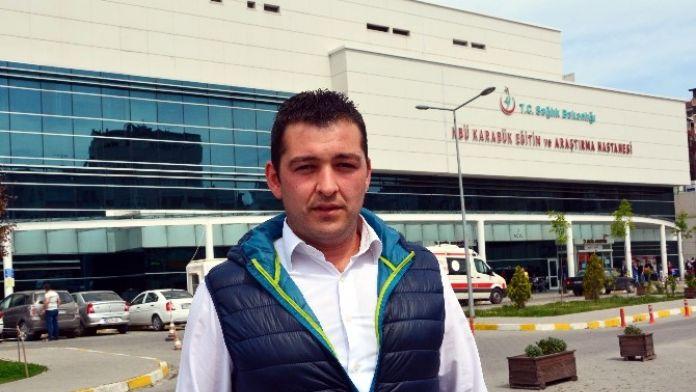 Yeşil Sahada Futbolcudan Tekme Yiyen Güvenlik Amiri Konuştu