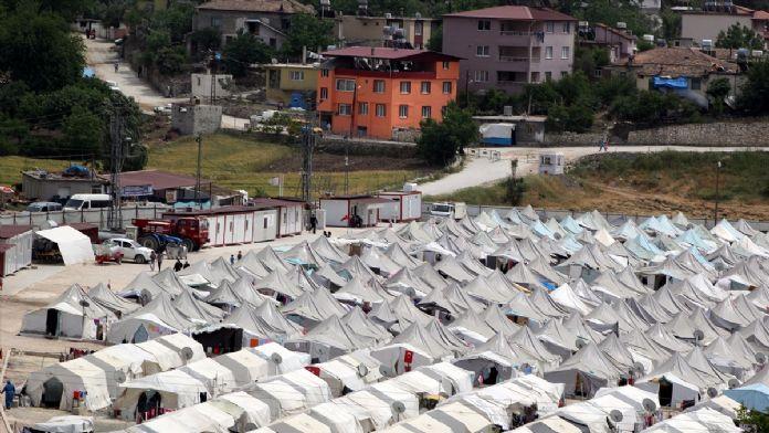 Bayırbucak Türkmenleri için kurulacak konteyner kent