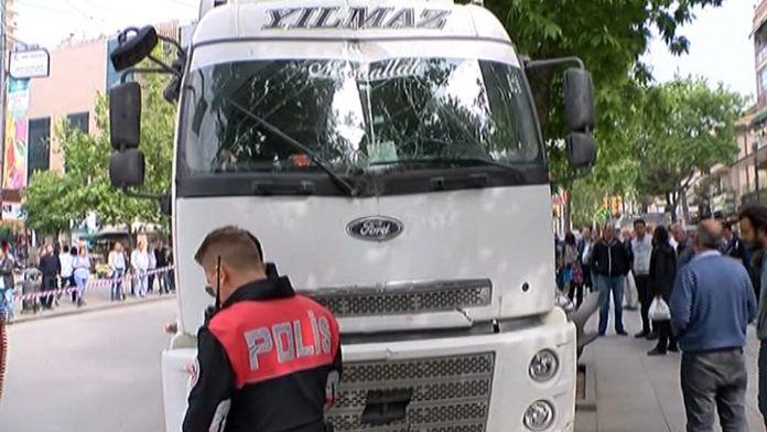 Bağdat Caddesi'nde hafriyat kamyonu dehşeti