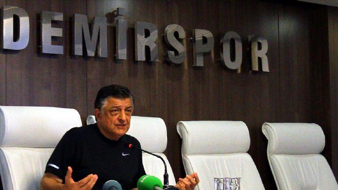 Adana Demirspor Teknik Direktörü Vural: