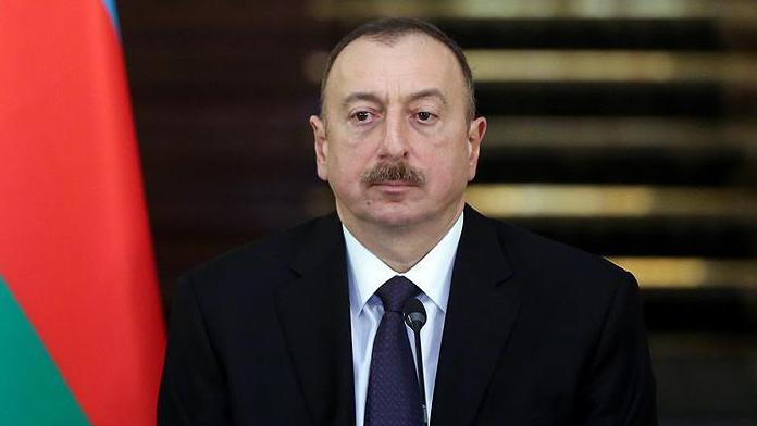 Aliyev'den cephe bölgesine destek