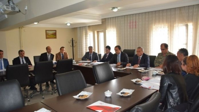 Tatvan'da Koordinasyon Toplantısı
