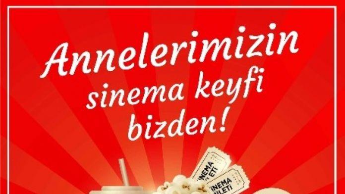 Forum Erzurum'dan Annelere Sinema Keyfi
