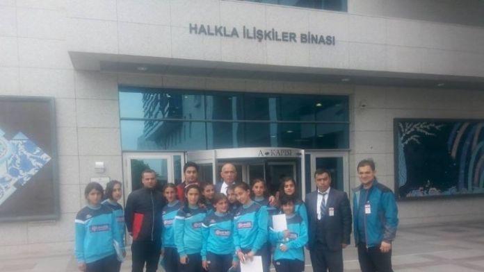 50.yıl Ortaokulu Öğrencilerinden Ilıcalı'ya Ziyaret
