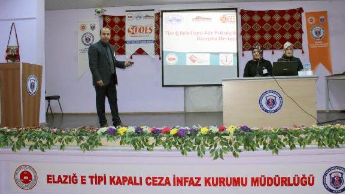 Elazığ'da cezaevinde uyuşturucu semineri