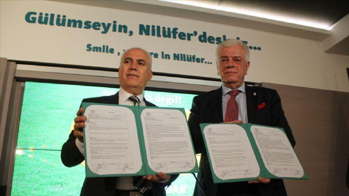 Nilüfer Belediyesinden Bursaspor'a destek