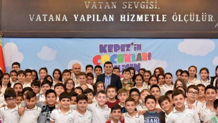 Başkan Tütüncü, Çocuklarla Buluştu