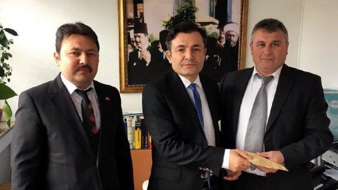 Rehau Ditib Derneği şehit yakınları için 6 bin Euro topladı