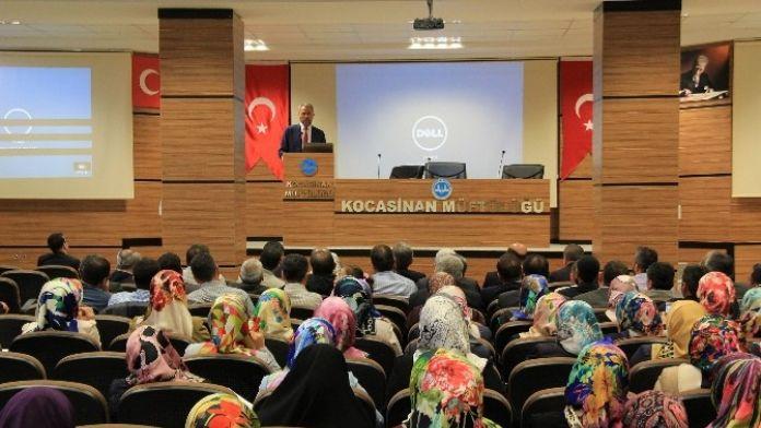 Kayseri'de Aileler Daha Eğitimli Olacak