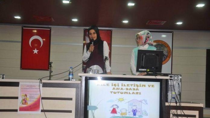 Suşehri'nde Aile Rehberliği Semineri Düzenlendi