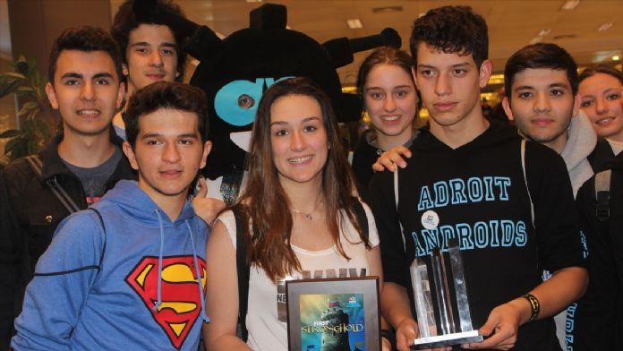 Türk öğrenciler, 'Dalton' ile ABD'de ödül kazandı