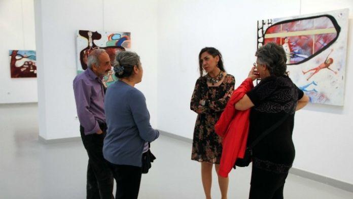 GAÜN Öğretim Üyesi Şenel'in Sergisi Ankaralı Sanatseverlerle Buluştu