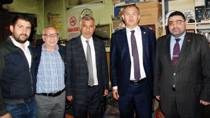 CHP İzmir Milletvekili Sertel'den, KKDGC Başkanı Daşdelen'e Tebrik Ziyareti