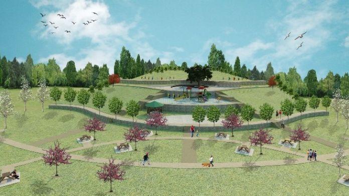 'Kardeş Şehirler Parkı'nın İnşasına Başlandı