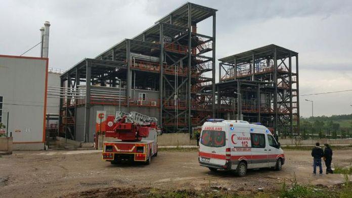 Korkunç Fabrika Yangını Şans Eseri Ucuz Atladıldı