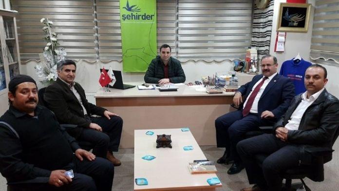 Milletvekili Deligöz'den Şehirder'e Ziyaret
