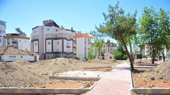 Kepez'e 3 Bin Metrekarelik Yeni Park