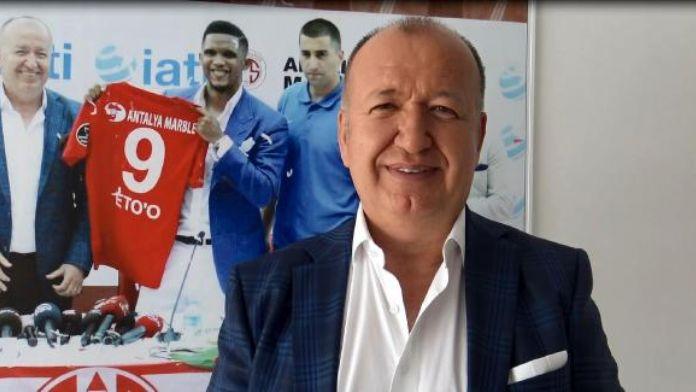 Antalyaspor Başkanı Gencer: 'Eto'o şampiyonluk istiyor'