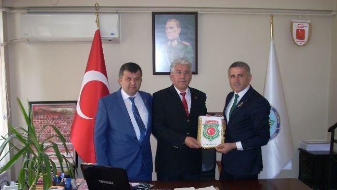 Gazilerden Mehmetçik Vakfı'na Ziyaret