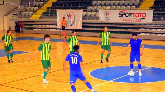 ÜNİLİG'de Futsal final müsabakaları sona erdi