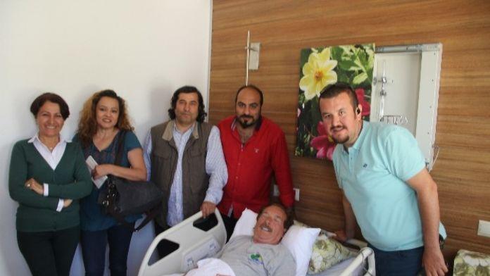 Duayen Gazeteci Güngör Dalay, Sevenlerini Korkuttu