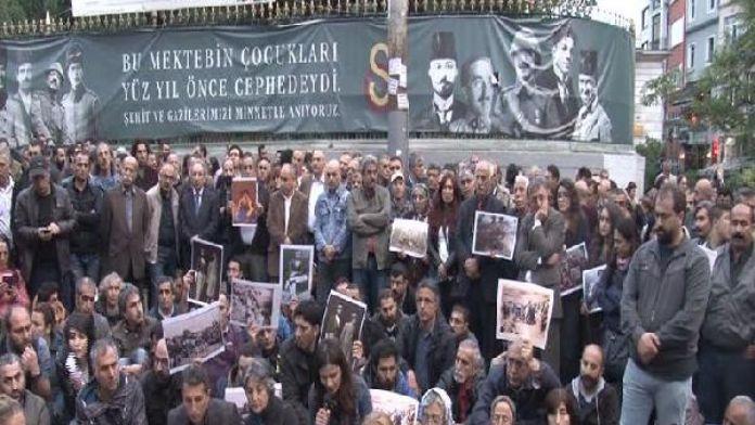 1938 yılında Tunceli'de ölenler için Beyoğlu'nda anma... 04 Mayıs 2016 Çarşamba