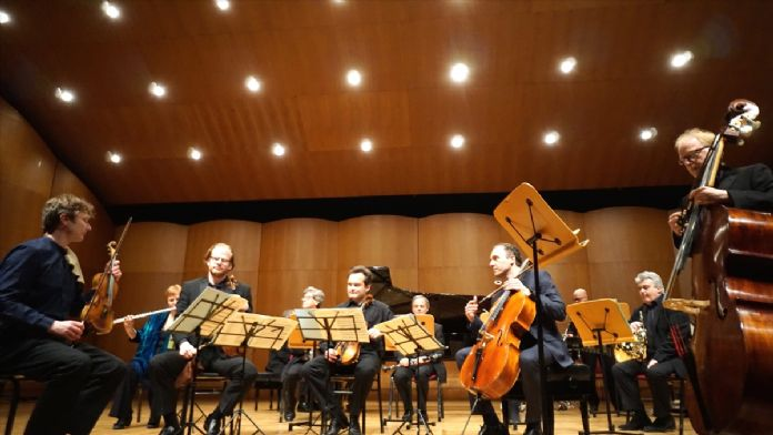 'The Nas Ensemble' konser verdi