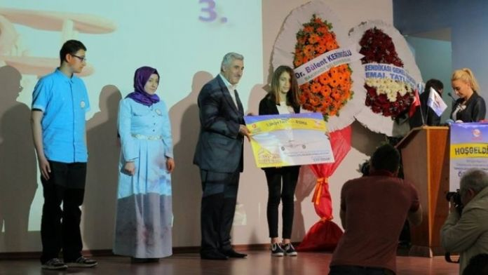 Didim Esra Karakaya Lisesi Öğrencisinden Türkiye Birinciliği