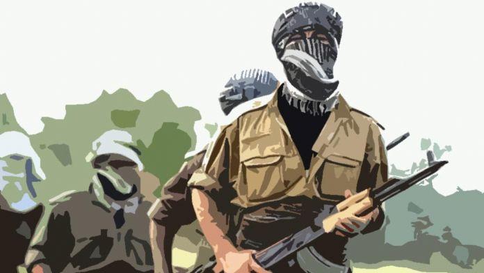 Teröristler etek ve şalvar giyerek kaçmaya başladı