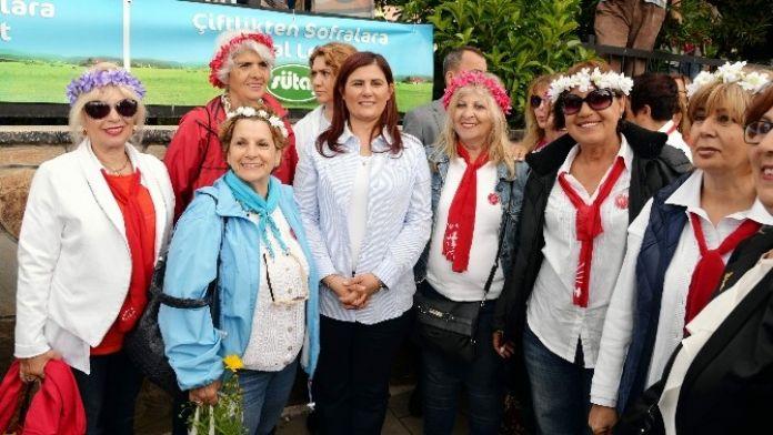 Başkan Çerçioğlu, Çiçek Festivalinin Onur Konuğu Oldu