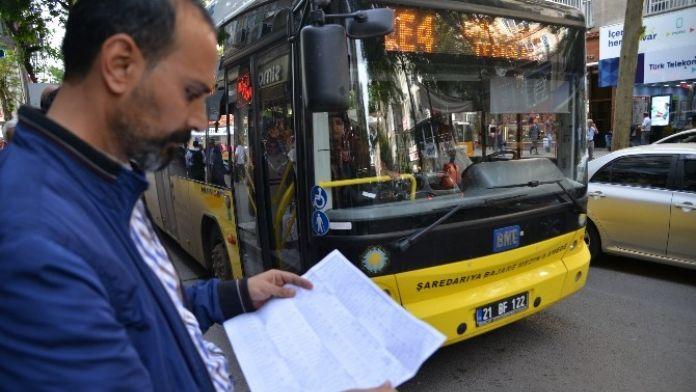 Toplu Taşıma Araçlarına Kalkış Ve Varış Saati Denetimi