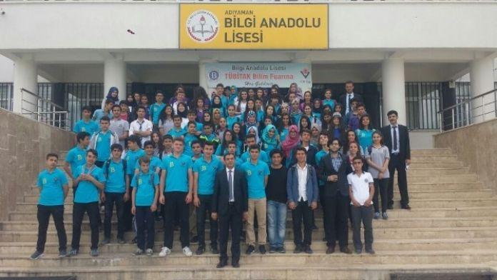 Bilgi Anadolu Lisesinde TÜBİTAK Projesinin Dördüncüsü Düzenlendi