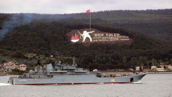 Rus savaş gemisi Karadeniz'e çıkıyor 05 Mayıs 2016 Perşembe