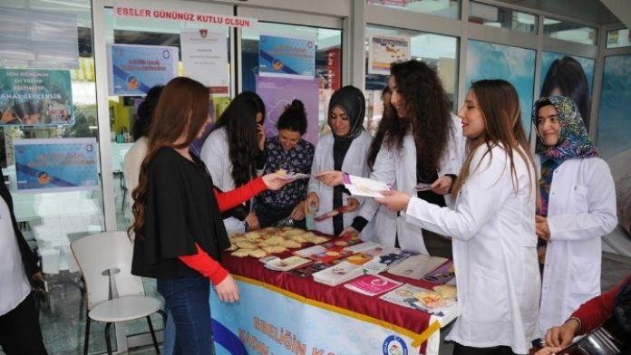 OMÜ'de 'Dünya Ebeler Günü' Kutlandı