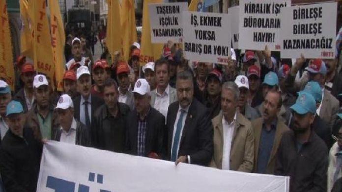 Türk-İş'ten Özel İstihdam Büroları için eylem...
