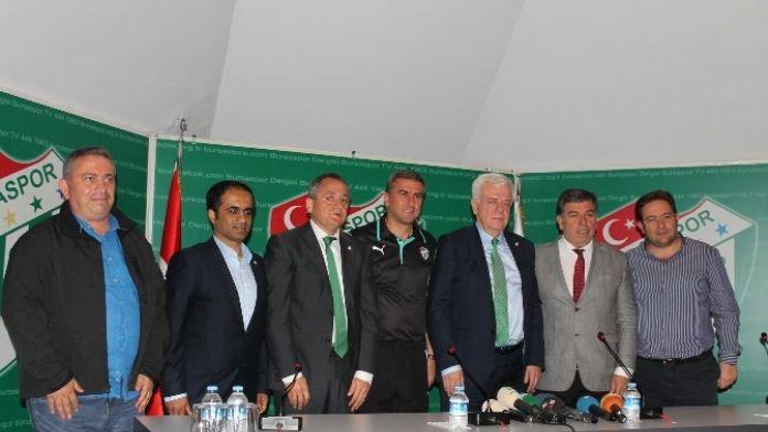 Bursaspor, Hamzaoğlu İle Sözleşme Uzattı