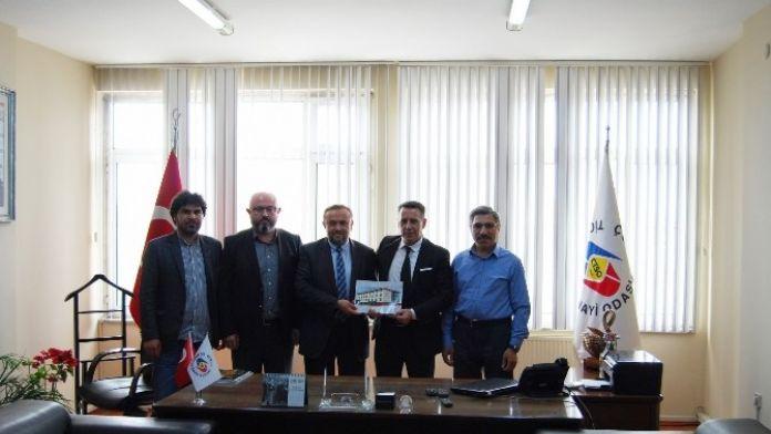İlim Yayma Cemiyeti'nden Çorlu TSO Başkanlarına Ziyaret