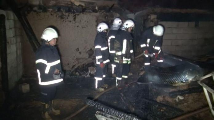 Gaziantep'te yangın faciası: Baba ve 6 çocuğu öldü