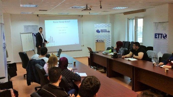 Erciyes Teknopark'ta 'İş Fikri Üretme Ve İş Fikri Doğrulama Eğitimi' Düzenlendi