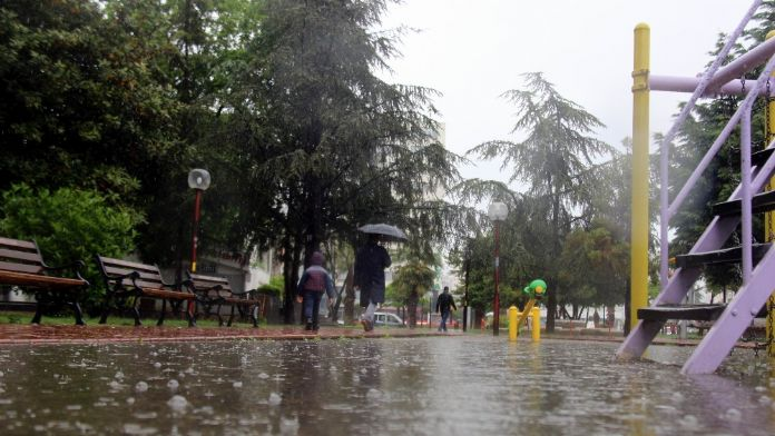 1 aylık yağış 1 gecede düştü