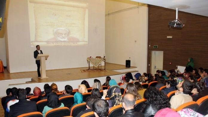 Trabzon'da Necip Fazıl Kısakürek'i Anma Ve Anlama Programı Yapıldı