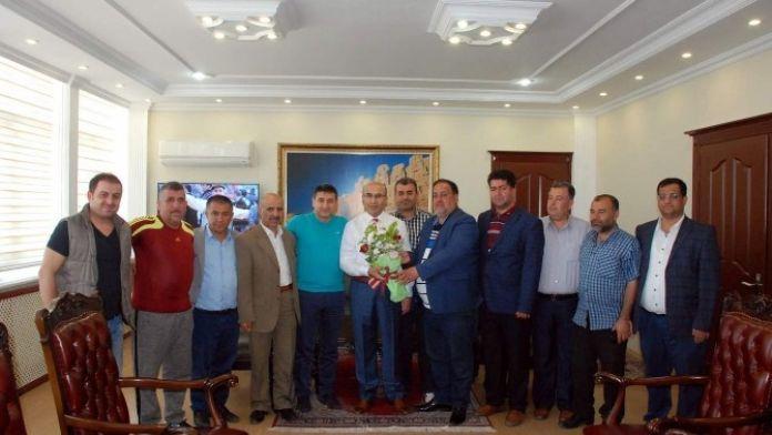 Spor Camiasından Vali Demirtaş'a Ziyaret