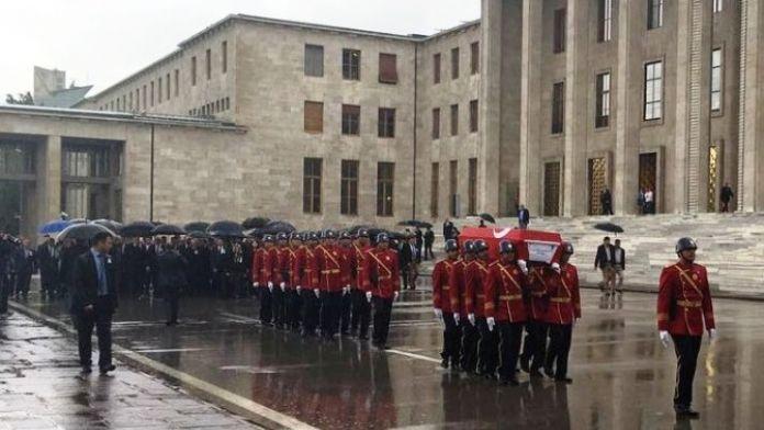 Eski Milletvekili Namık Durhan İçin TBMM'de Tören