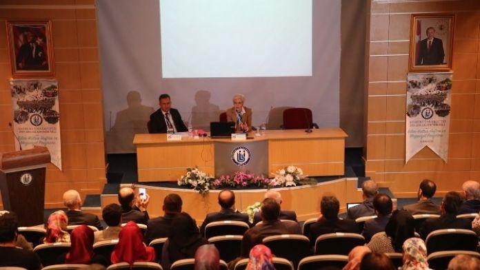 TÜBİTAK Heyeti, Heyet Halinde İlk Konferansını Bayburt Üniversitesinde Verdi