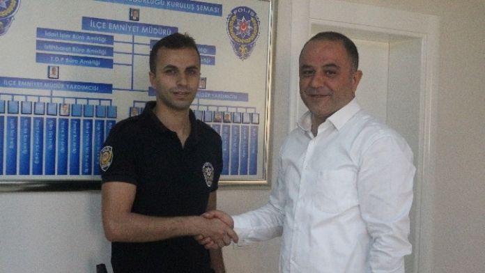 Alanya'da Yılın Polisi Altınla Ödüllendirildi