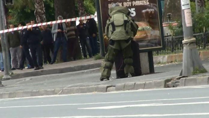 Vatan Caddesi'nde şüpheli valiz paniği